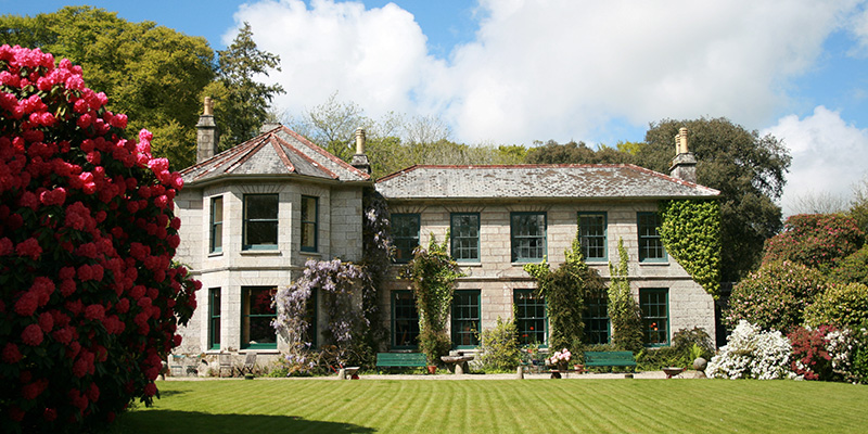 Bosvathick House Cornwall open to visitors