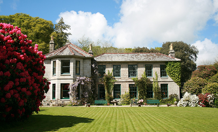 Bosvathick House bed & breakfast Cornwall