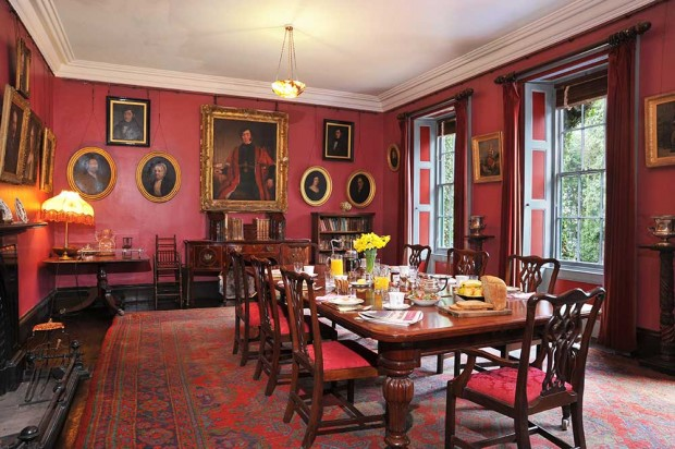 Country House Tours Dining Room
